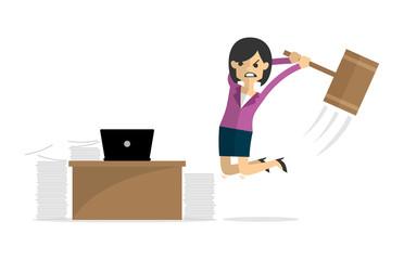 Angry Employees Cartoon | www.pixshark.com - Images ...