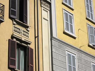 Finestre a Milano, Italia, 2013