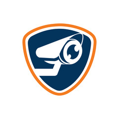 Security Surveillance Eye Camera Watch Logo Icon Template