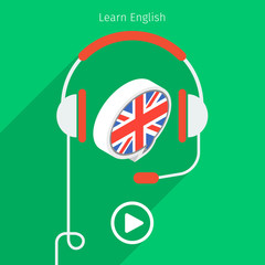 Concept of studying English