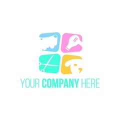 Pet Shop Animal Care Logo