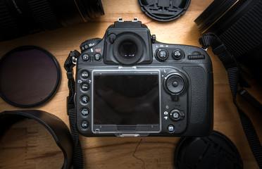 Modern DSLR camera