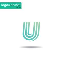 LogoAlphabet, letter U
