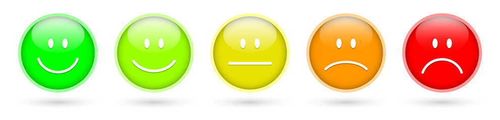 Smileys Buttons Icons Bewertung