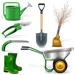 Vector Garden Icons Set 1