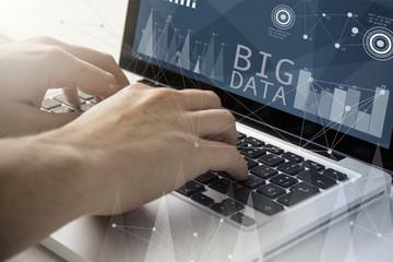 big data techie working