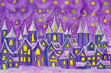 Dreamstown, painting