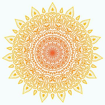 Sunny mandala