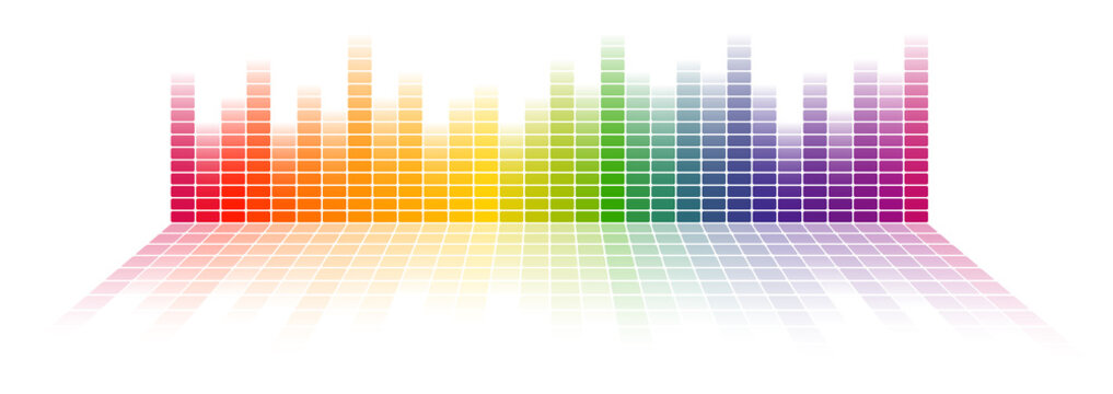 seamless digital equalizer background
