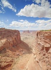 Canyon in Canyonlands National Park, Utah, USA