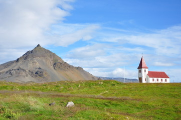 Church of Hellnar, Iceland