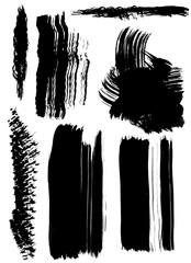 dry brush smears