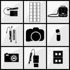 photographer accessory set