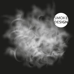 Abstract smoke texture template. Steam, cloud. Realistic Texture