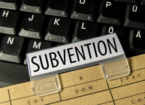 Subvention (Geld, Recht, Wirtschaft)