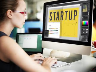 Startup Creative Design Architecture Technology Concept