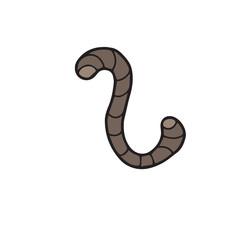 Animal earth worm