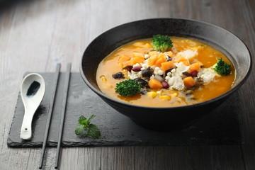 pumpkin dessert soup