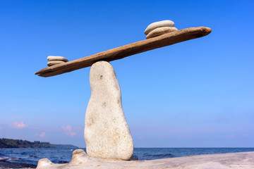 Equilibrium of stones
