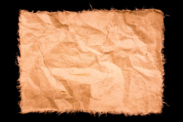 mulberry paper texture on black background