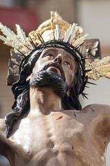 Cristo de la hermandad de la exaltación, semana santa de Sevilla