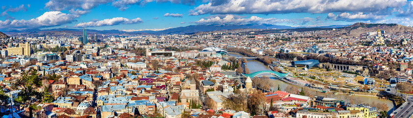 Panoramic view of Tbilisi, Georgia