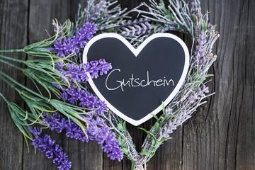 wellness gutschein lavendel