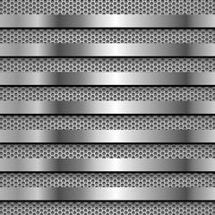 Задний фон с мелаллической сеткой и решеткой