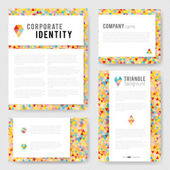 Colorful triangle Identity-2
