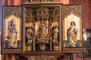 Heiligenbild in der Kirche