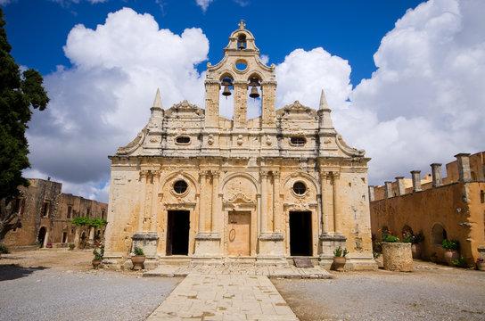 Moni Arkadiou monastery - Crete, Greece