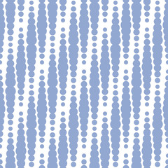 Geometric seamless pattern in color of the year 2016. Abstract simple line drops wave design. Serenity violet color.