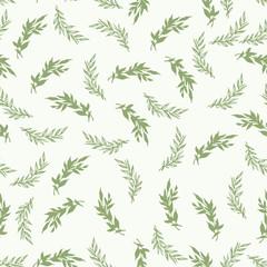 Foliage seamless pattern