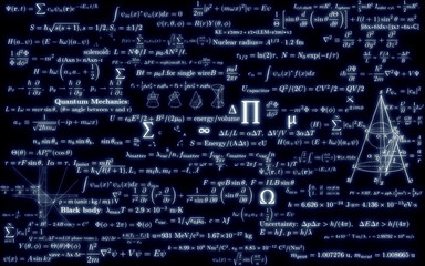 black mathematics board with formulas