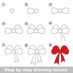 Drawing tutorial. How to draw a Bow