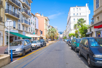 Cannes, France -the picturesque old city center