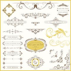 Ornate Vintage Design Set