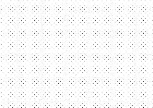 Black Dots White Background Vector Illustration
