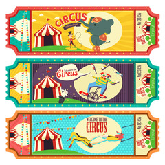 Circus Ticket Design