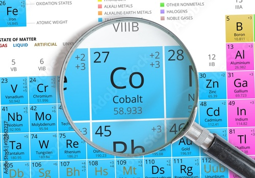 a research on cobalt as the 27th element on the periodic table