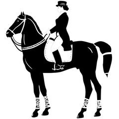 horseback riding and dressage