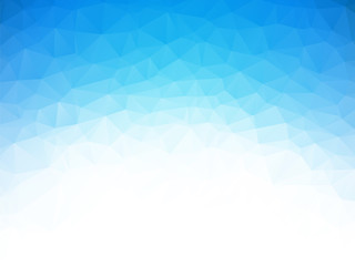 low poly blue ice texture background