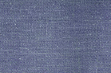 Background from a natural old blue fabric