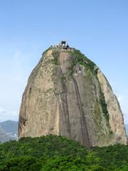 Spectacular panorama of Sugarloaf mountain in Rio de Janeiro, Brazil
