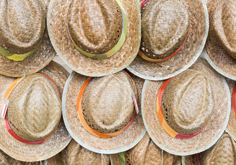 Woven hats group
