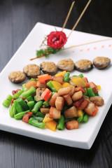 Vietnamese saute vegetables & pork