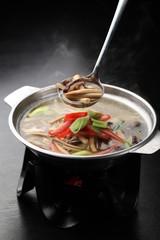 mixed mushroom pot