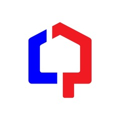 home building icon logo