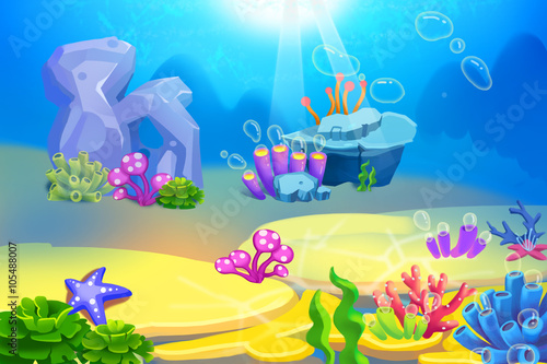 Creative illustration and innovative art clearing under sea creative illustration and innovative art clearing under sea realistic fantastic cartoon style artwork scene voltagebd Gallery
