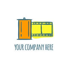 photography vector logo icon